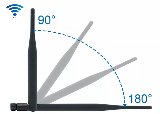 5dbi 2.4GHz or 5.8Ghz Dual Band Antenna For Omni WIFI Aerial RP SMA Wireless Router