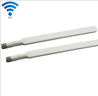 China White 4G LTE Router External Antenna SMA Male Bending Connector 50 Ohm Impedance supplier