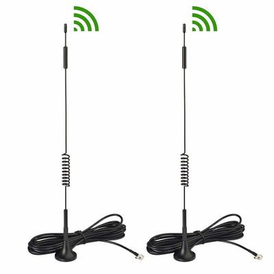 China Magnetic Base Magnetic Wifi Antenna 433MHz Whip Type 9dbi With SMA Connector supplier