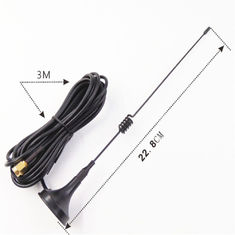 China 2.4G Wifi 9dbi Omni Magnetic Base Antenna SMA Male Connector With 3m RG174 Cable supplier