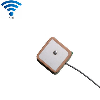 28db Gain Internal Ceramic Gps Patch Antenna Active GPS 25x25 1575.42mhz Frequency