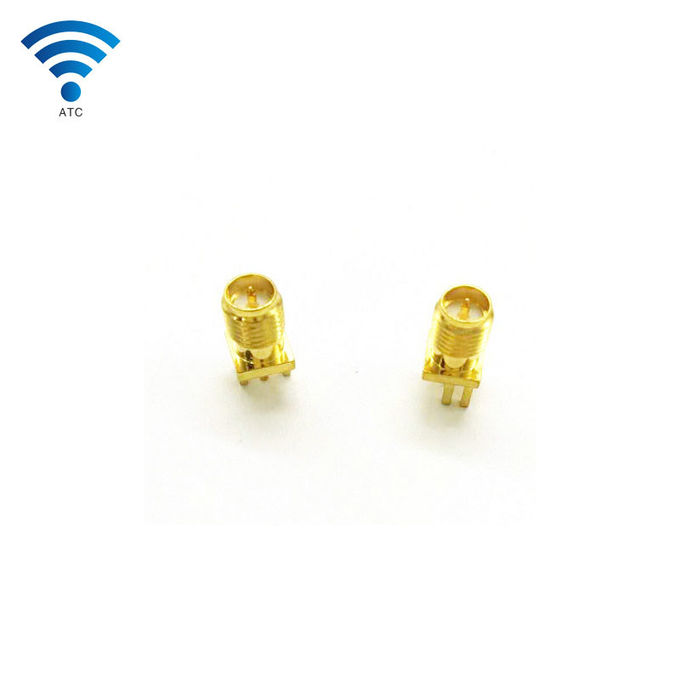 Wireless Internal Antenna Coaxial Cable Fittings SMA Female Bulkhead Connector To UFL Antenna