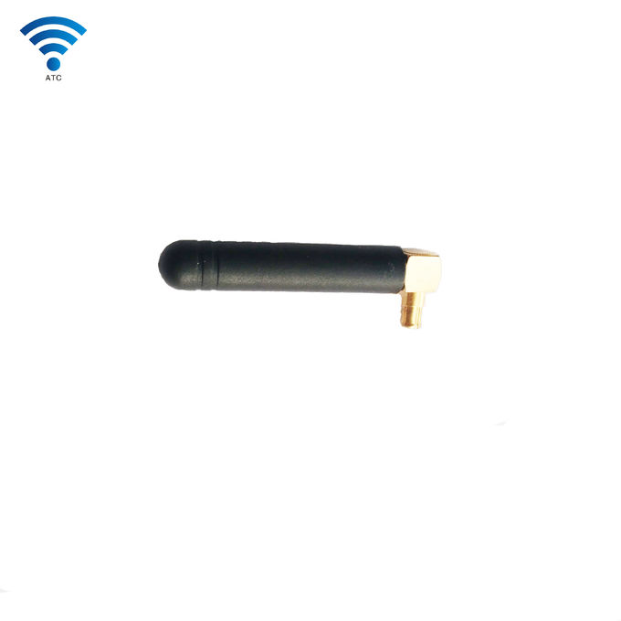 MMCX Connector GSM GPRS Antenna , Rubber WiFi External GSM Aerial
